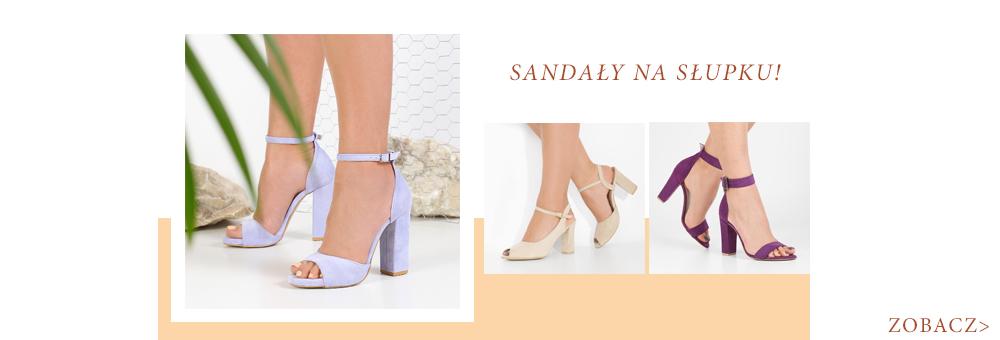 954450f80b9922 Wygodne sandały na słupku dostępne w wielu kolorach!