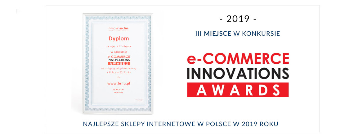 "III Miejsce w konkursie ""E-COMMERCE INNOVATIONS AWARDS"" dla Brilu.pl"