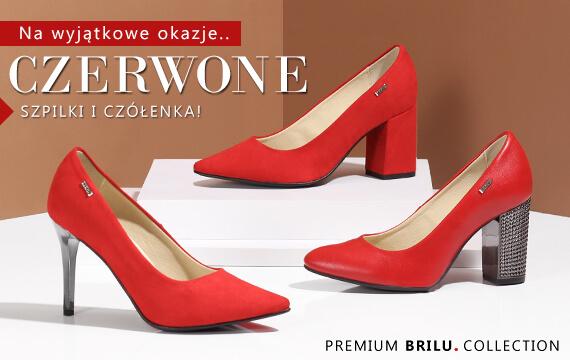 ba0ceab3 Czerwone szpilki - brilu.pl