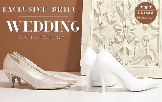 b0ca01bb Kolekcja obuwia ślubnego marki brilu. Szpilki ślubne ...