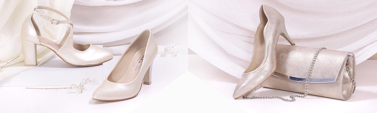 e28ebd6e99d14 Przewodnik po butach ślubnych: Part 2. Złote czółenka ślubne. Moda damska