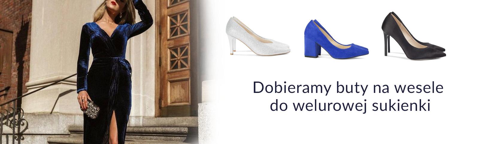 Dobieramy Buty Na Wesele Do Welurowej Sukienki Blog Brilu Pl