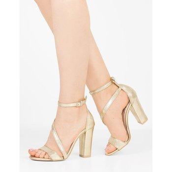 sandały damskie na słupku rozmiar 35
