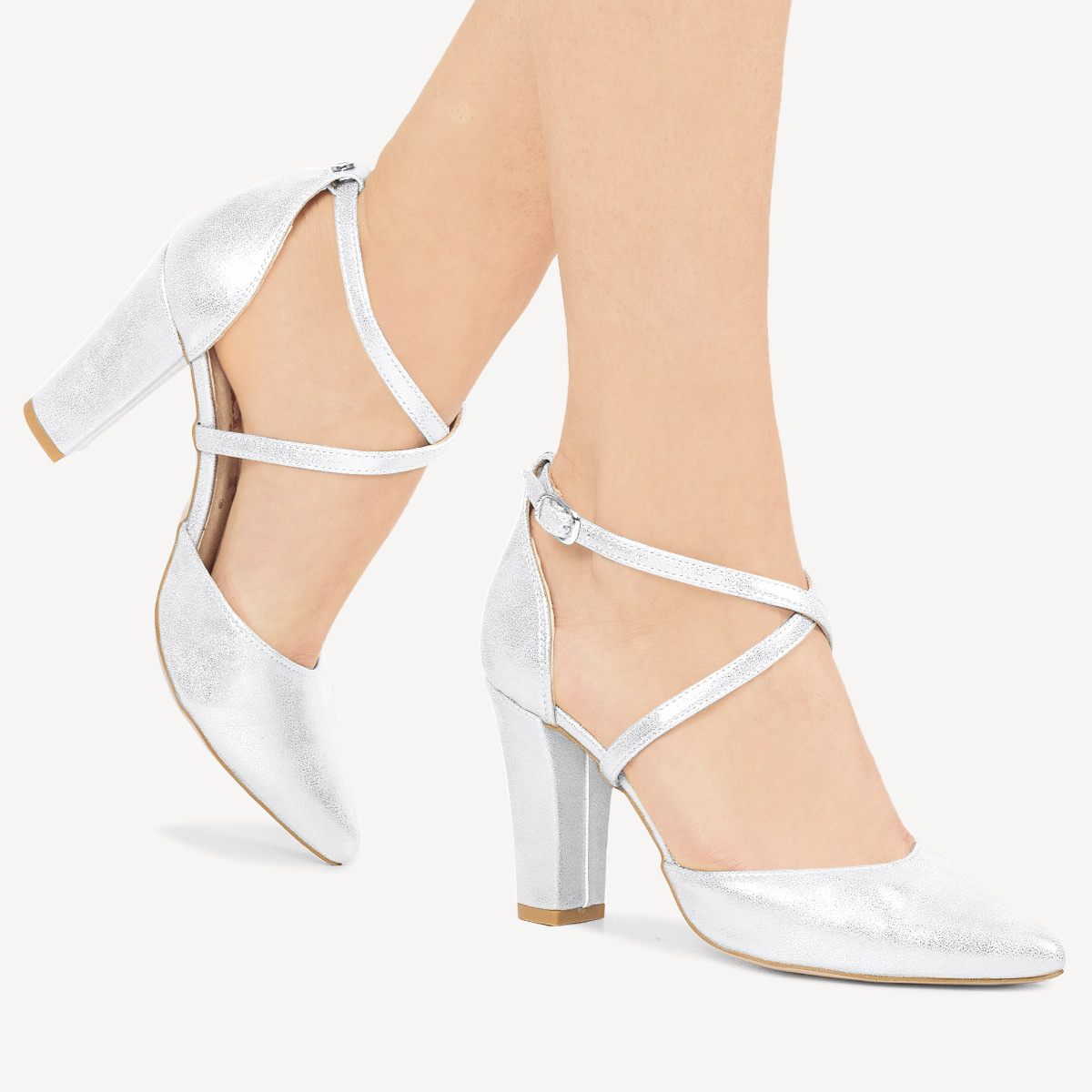 Czolenka Na Slupku Szare Nf 27 Grey Stiletto Heels Heels Stiletto