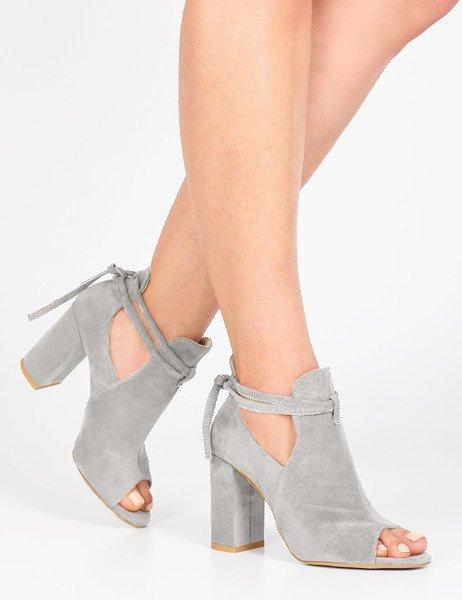 buty damskie z odkrytymi palcami złote