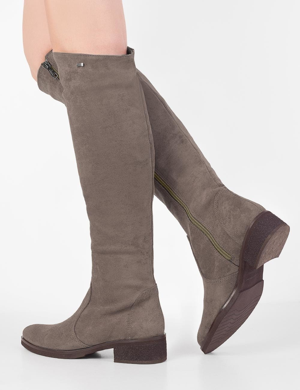 buty plaskie na jesien damskie brazowe