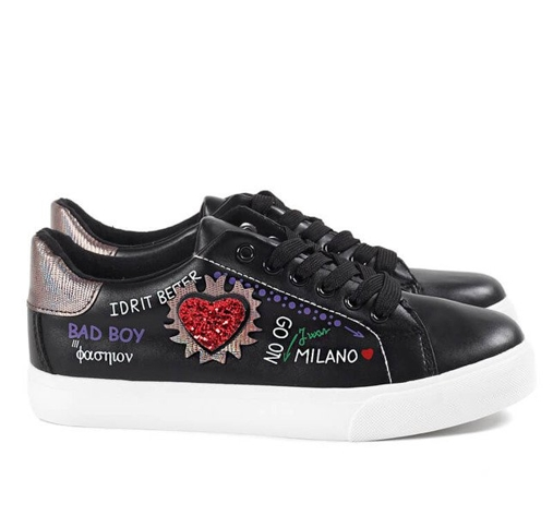 Trainers Manade Black